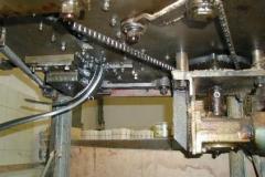 Klammer-Machine von unten